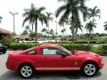 2007 Torch Red Ford Mustang V6 Premium Coupe  photo #5