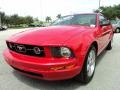 2007 Torch Red Ford Mustang V6 Premium Coupe  photo #14