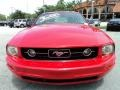2007 Torch Red Ford Mustang V6 Premium Coupe  photo #15