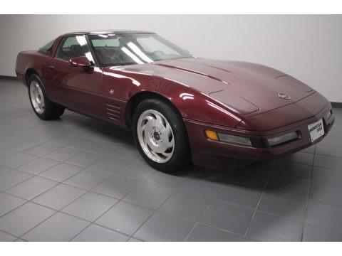 1993 chevrolet corvette 40th anniversary coupe data info and specs. Black Bedroom Furniture Sets. Home Design Ideas