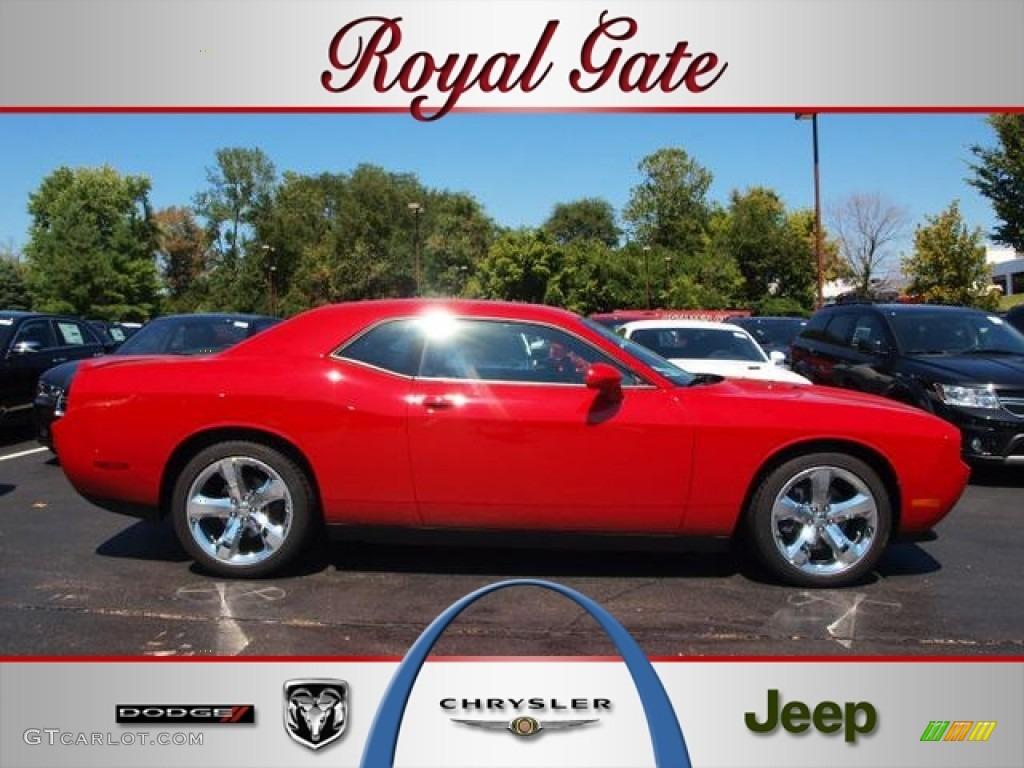 2013 Challenger R/T - Redline 3-Coat Pearl / Dark Slate Gray photo #1