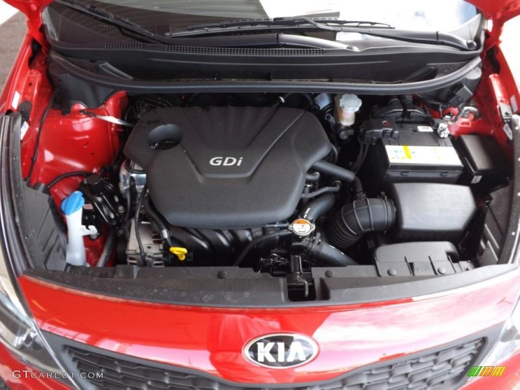 2013 Kia Rio LX Sedan 1.6 Liter GDI DOHC 16-Valve CVVT 4 ...