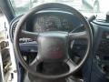 2005 Chevrolet Astro Blue Interior Steering Wheel Photo