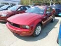 2007 Redfire Metallic Ford Mustang V6 Deluxe Coupe  photo #3