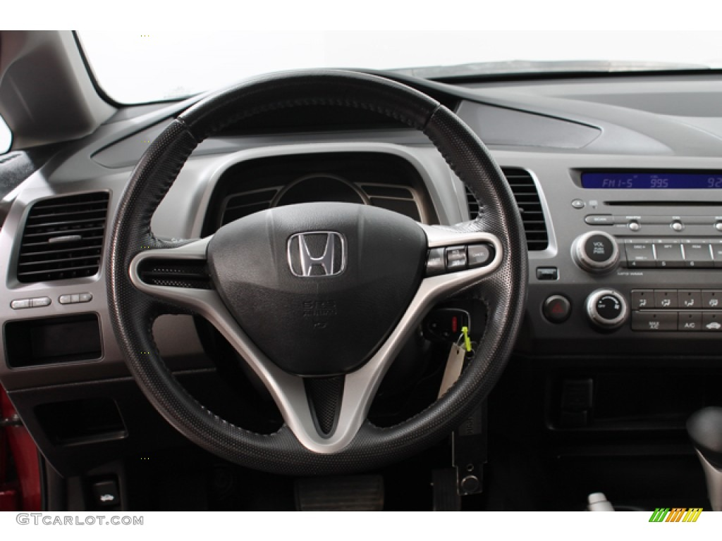 2010 honda civic lx s sedan black steering wheel photo 70233439. Black Bedroom Furniture Sets. Home Design Ideas