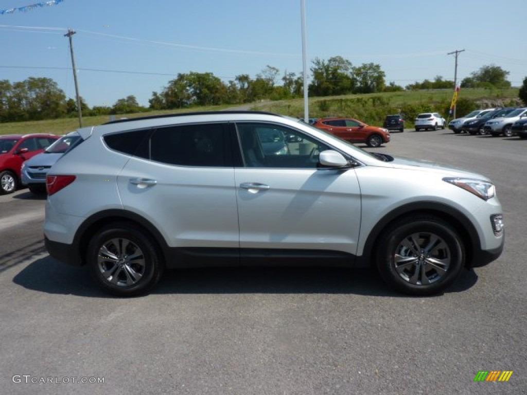 Moonstone Silver 2013 Hyundai Santa Fe Sport Awd Exterior