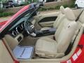Medium Parchment Front Seat Photo for 2008 Ford Mustang #70237747