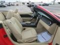 2008 Ford Mustang Medium Parchment Interior Interior Photo