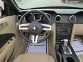 2008 Ford Mustang Medium Parchment Interior Dashboard Photo