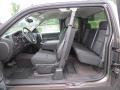 2012 Mocha Steel Metallic Chevrolet Silverado 1500 LT Extended Cab 4x4  photo #11