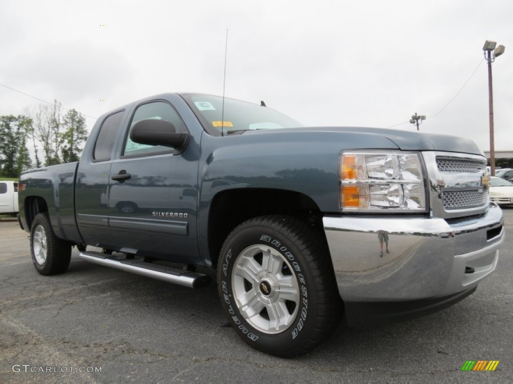 Blue Granite Metallic Chevrolet Silverado 1500