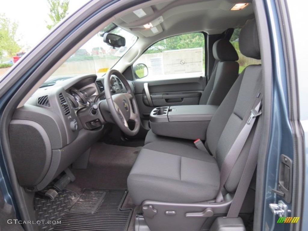 2012 Silverado 1500 LT Extended Cab 4x4 - Blue Granite Metallic / Ebony photo #10