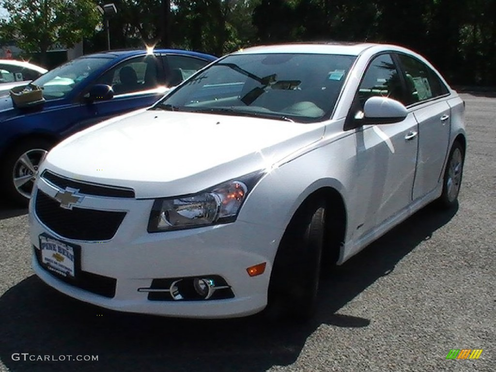 2013 summit white chevrolet cruze ltz rs 70195255 car color galleries. Black Bedroom Furniture Sets. Home Design Ideas