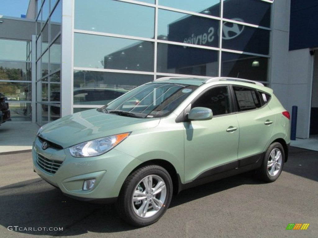 2013 kiwi green hyundai tucson gls awd 70195184 photo 5 car color galleries. Black Bedroom Furniture Sets. Home Design Ideas
