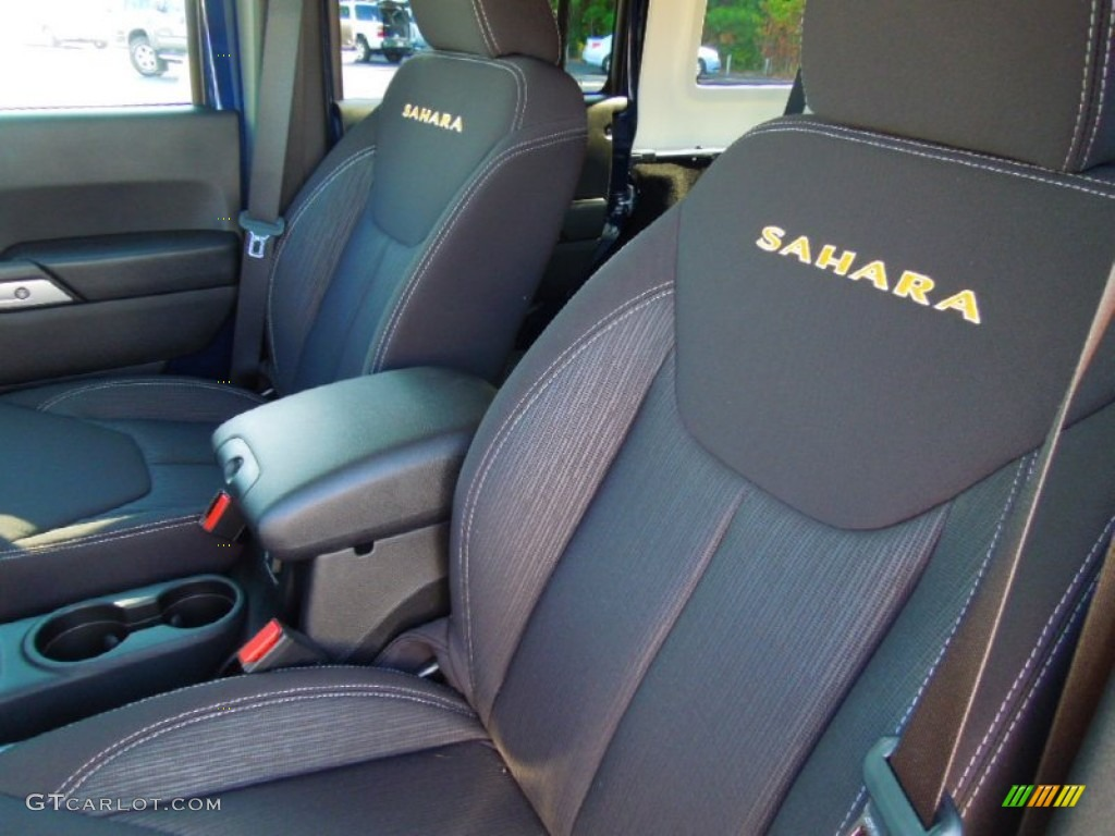 Black interior 2013 jeep wrangler unlimited sahara 4x4 - 2012 jeep wrangler unlimited interior ...