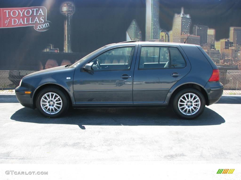 2004 Blue Anthracite Metallic Volkswagen Golf GLS 4 Door #7016217 | GTCarLot.com - Car Color ...