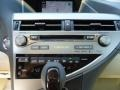 Parchment/Espresso Birds Eye Maple Controls Photo for 2013 Lexus RX #70261777