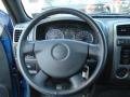 2011 GMC Canyon Ebony Interior Steering Wheel Photo