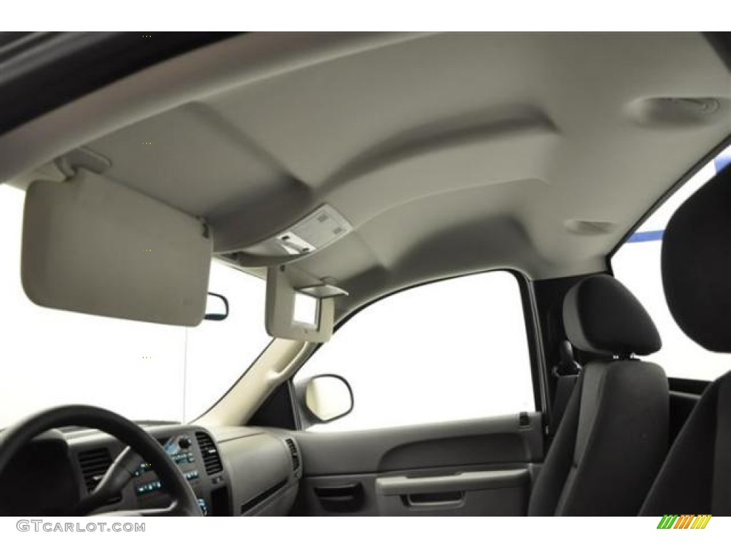 2012 Silverado 1500 LS Regular Cab 4x4 - Silver Ice Metallic / Dark Titanium photo #13