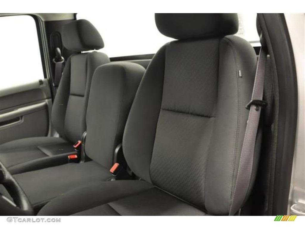 2012 Silverado 1500 LS Regular Cab 4x4 - Silver Ice Metallic / Dark Titanium photo #15