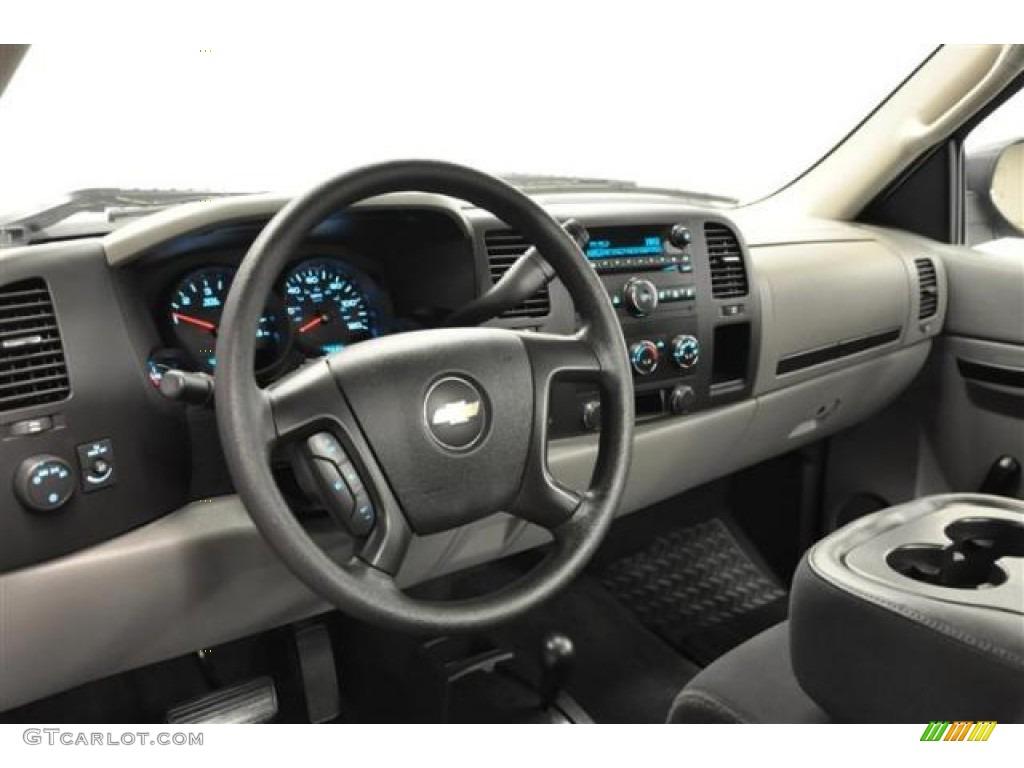 2012 Silverado 1500 LS Regular Cab 4x4 - Silver Ice Metallic / Dark Titanium photo #16