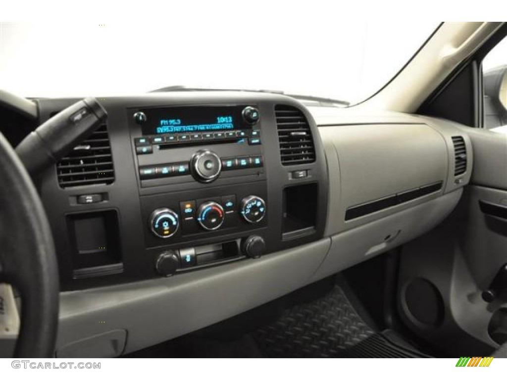 2012 Silverado 1500 LS Regular Cab 4x4 - Silver Ice Metallic / Dark Titanium photo #20