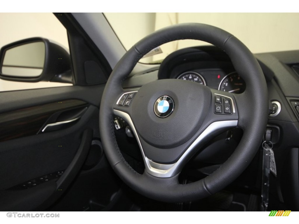2013 Bmw X1 Xdrive 35i Black Steering Wheel Photo 70275235 Gtcarlot Com