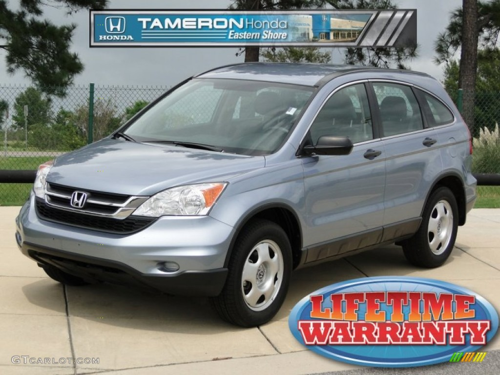 2011 CR-V LX - Glacier Blue Metallic / Gray photo #1