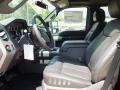 2012 Sterling Grey Metallic Ford F250 Super Duty Lariat Crew Cab 4x4  photo #3