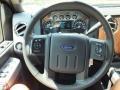 2012 Sterling Grey Metallic Ford F250 Super Duty Lariat Crew Cab 4x4  photo #12