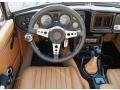 1980 MG MGB Tan Interior Dashboard Photo