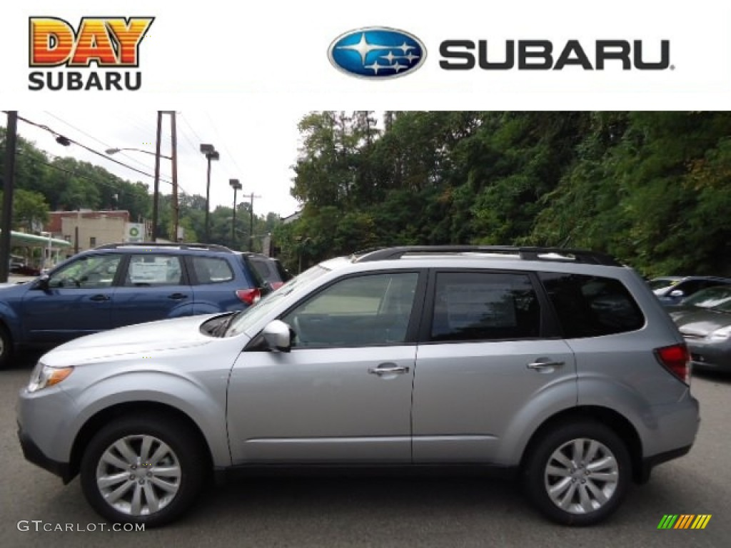 2013 ice silver metallic subaru forester 25 x premium 70310787 ice silver metallic subaru forester vanachro Image collections