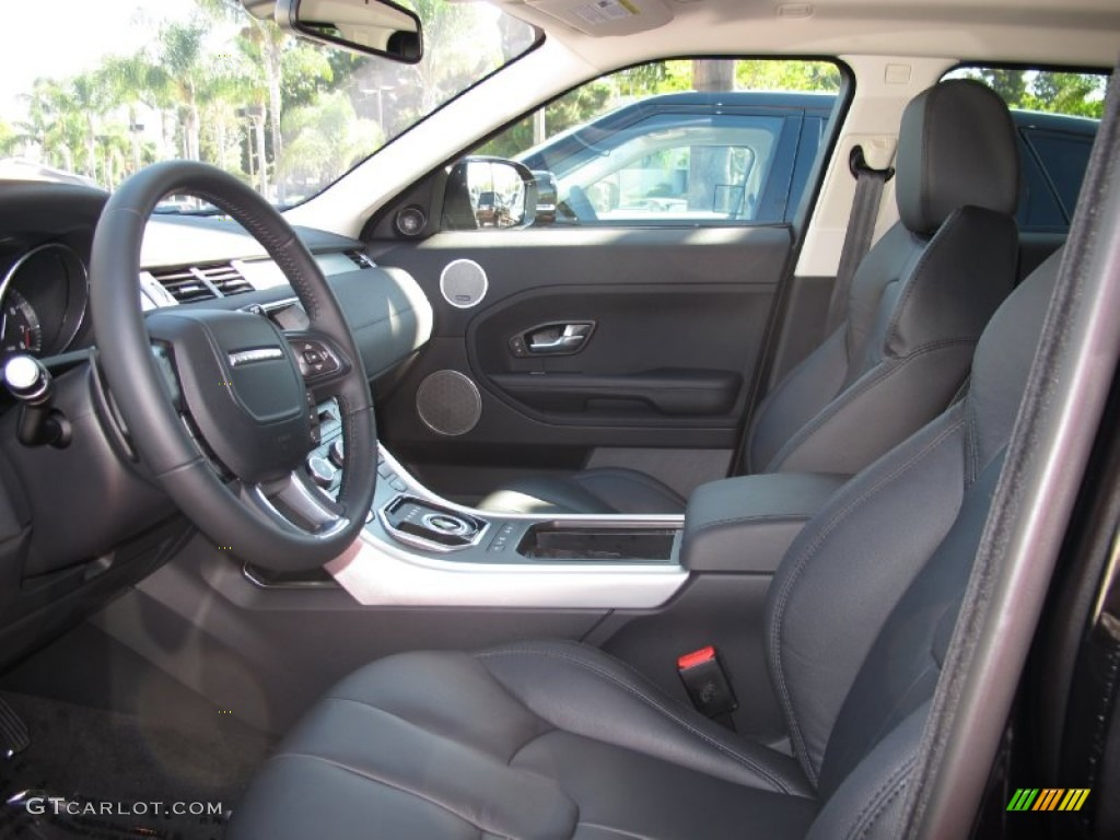 2012 Land Rover Range Rover Evoque Pure Interior Color Photos