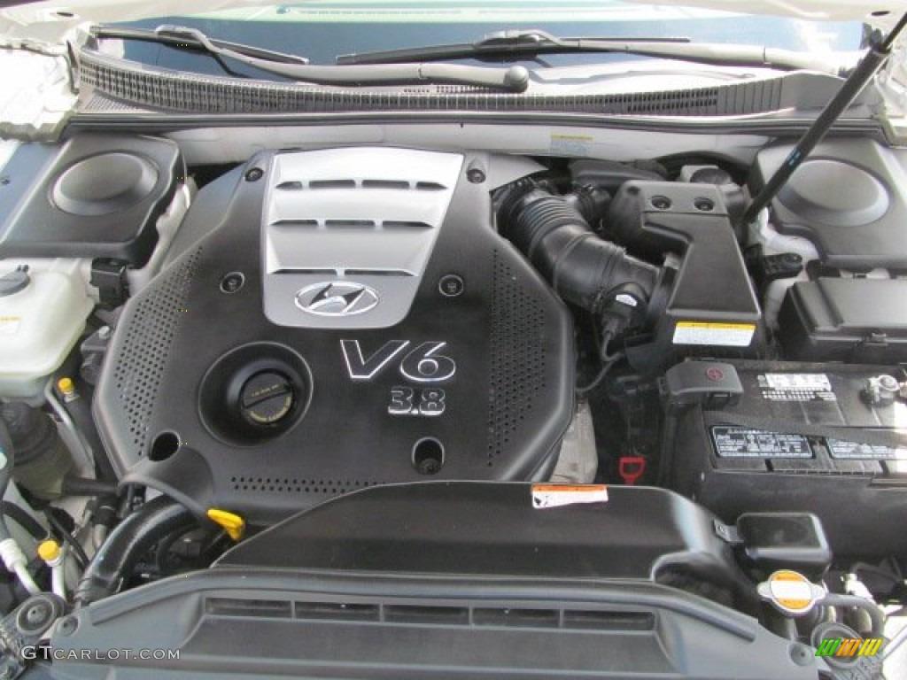 2006 Hyundai Azera Limited 3 8 Liter Dohc 24 Valve Vvt V6