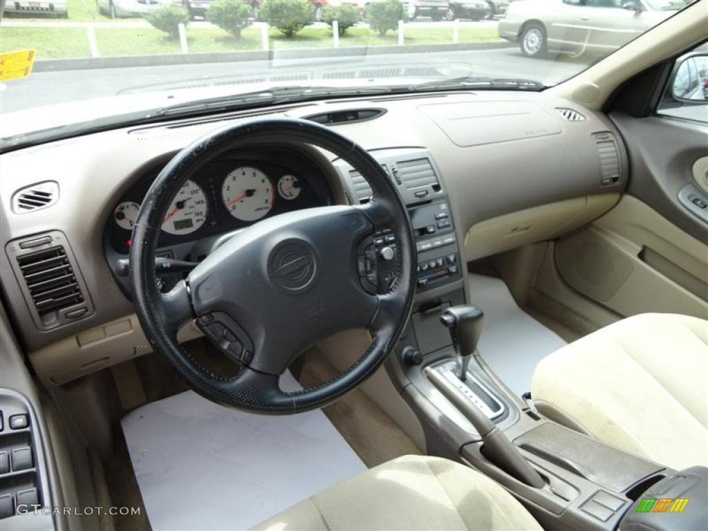 Blond Interior 2001 Nissan Maxima Se Photo 70329555