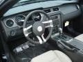 2013 Ford Mustang Stone Interior Prime Interior Photo