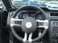 2013 Ford Mustang Stone Interior Steering Wheel Photo