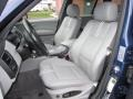 2005 BMW X3 Grey Interior Front Seat Photo