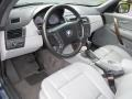 2005 BMW X3 Grey Interior Prime Interior Photo