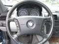2005 BMW X3 Grey Interior Steering Wheel Photo