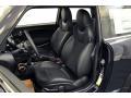 Recaro Sport Black/Dinamica 2013 Mini Cooper Interiors