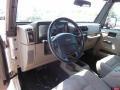 Khaki 2005 Jeep Wrangler Interiors