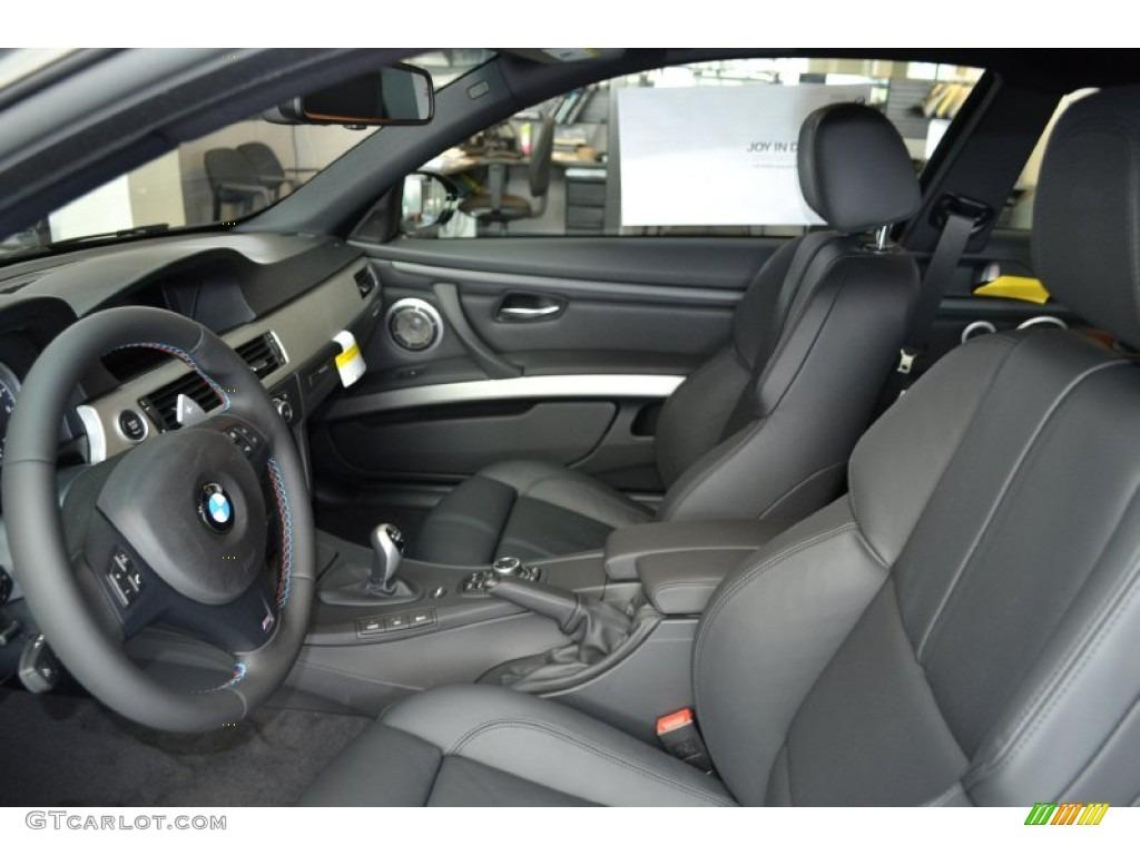 Black interior 2013 bmw m3 coupe photo 70337832