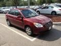 Wine Red 2009 Hyundai Accent Gallery
