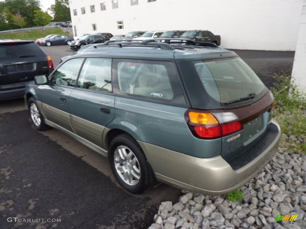 2000 wintergreen metallic subaru outback wagon 70353052. Black Bedroom Furniture Sets. Home Design Ideas
