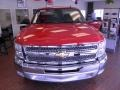 2012 Victory Red Chevrolet Silverado 1500 LT Extended Cab  photo #2