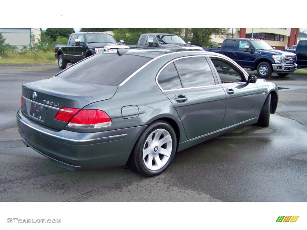 titanium grey metallic 2006 bmw 7 series 750li sedan. Black Bedroom Furniture Sets. Home Design Ideas