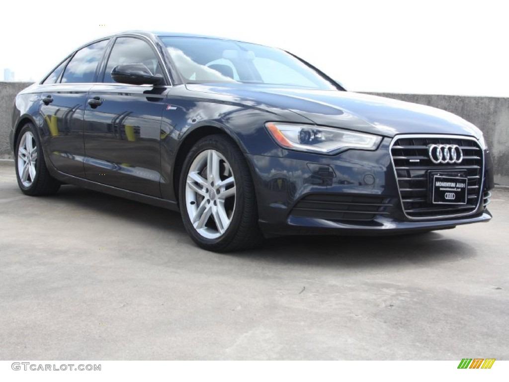 Moonlight Blue Metallic Audi A6