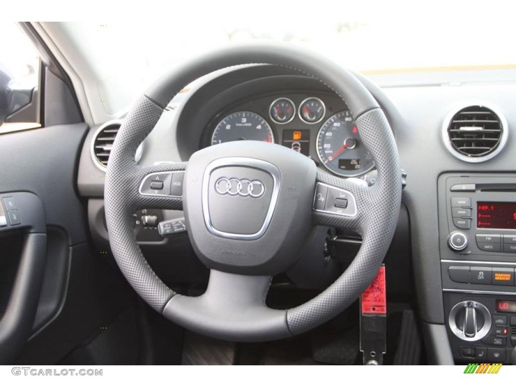 2013 audi a3 2 0 tdi black steering wheel photo 70371906. Black Bedroom Furniture Sets. Home Design Ideas