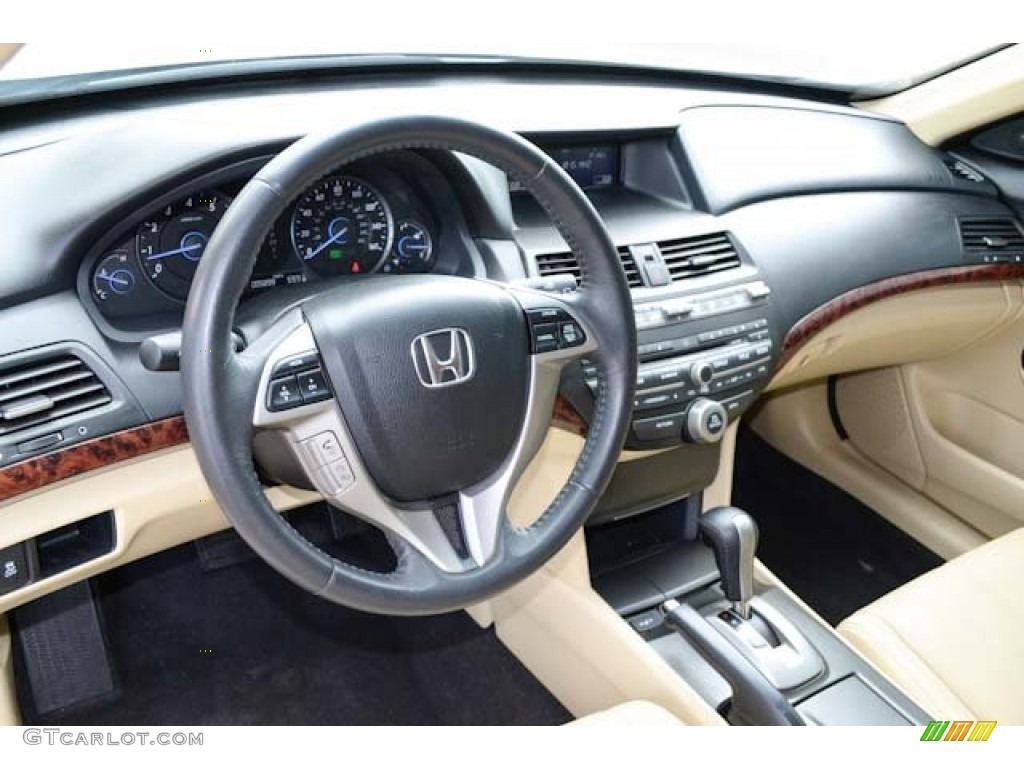 2012 Honda Accord Crosstour Ex L Ivory Dashboard Photo